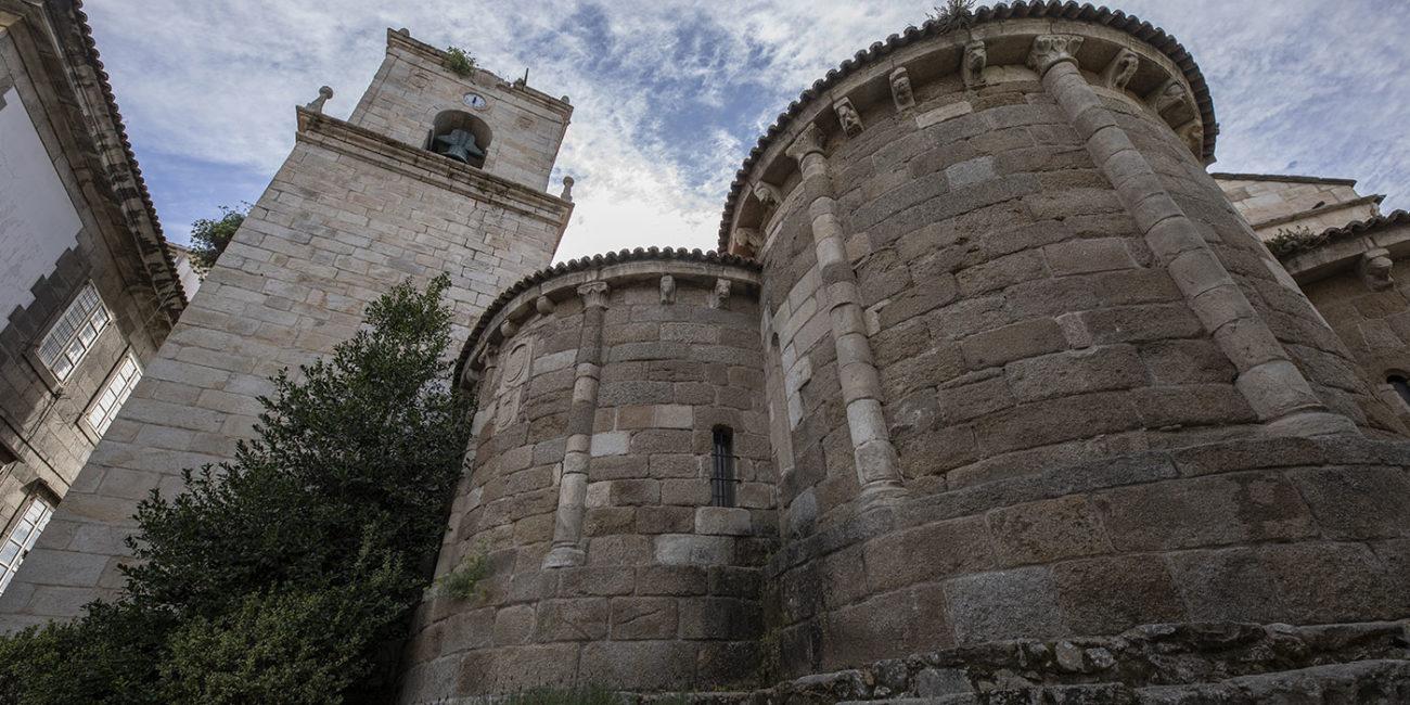 Abside da igrexa de Santiago na Coruña