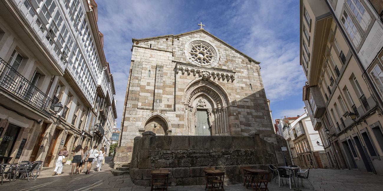 Igrexa de Santiago na Coruña