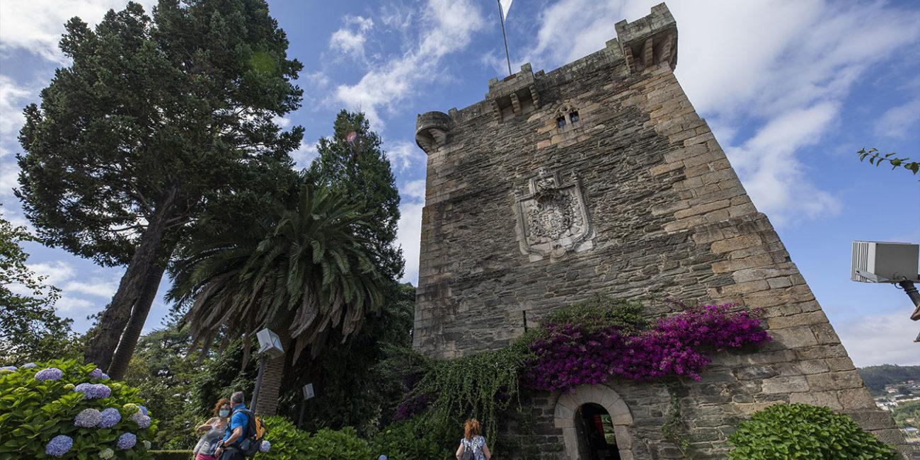 Torre dos Andrade en Pontedeume