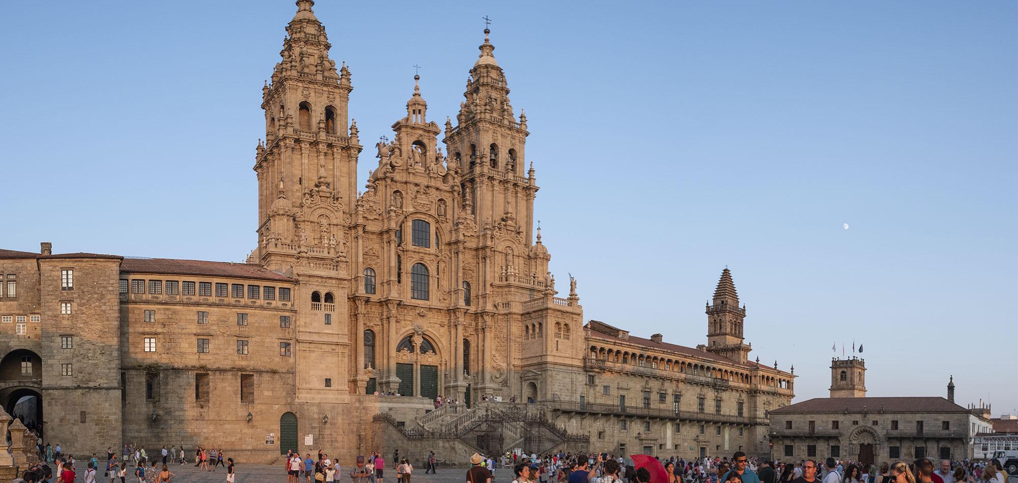 Plaza do Obradoiro en Santiago de Compostela