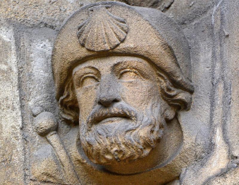 Apóstolo Santiago na Abadía de Reading