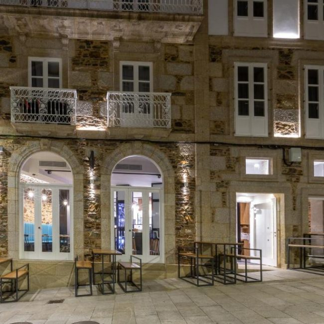 hostal portico betanzos