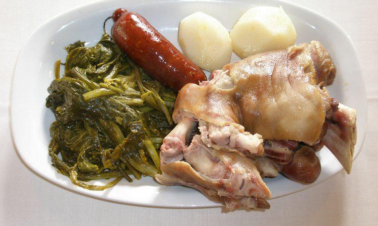 A Festa da Uña en Compostela cocido gallego