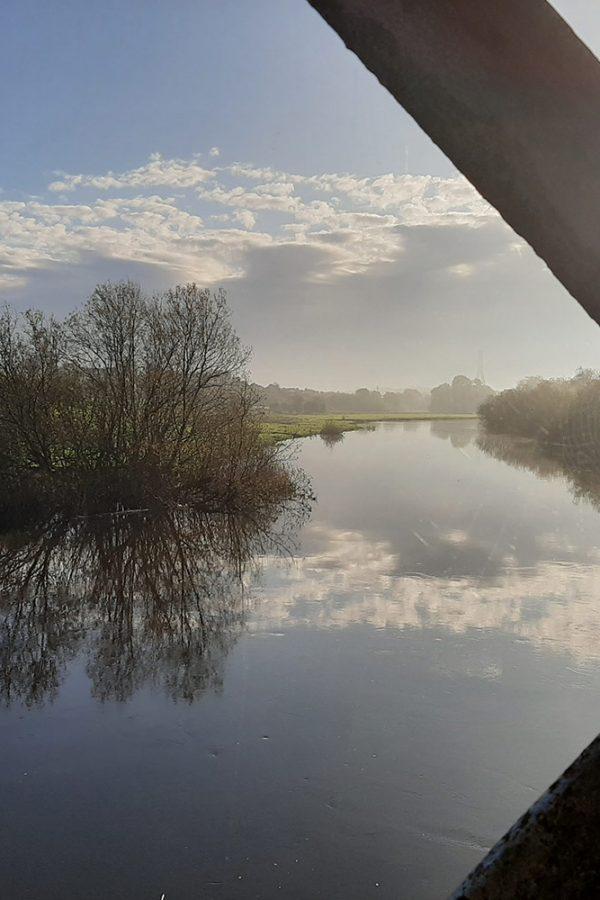 Boyne River en Oldbridge