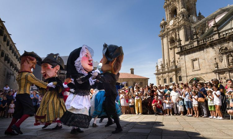 Festa da Ascensión en Compostela